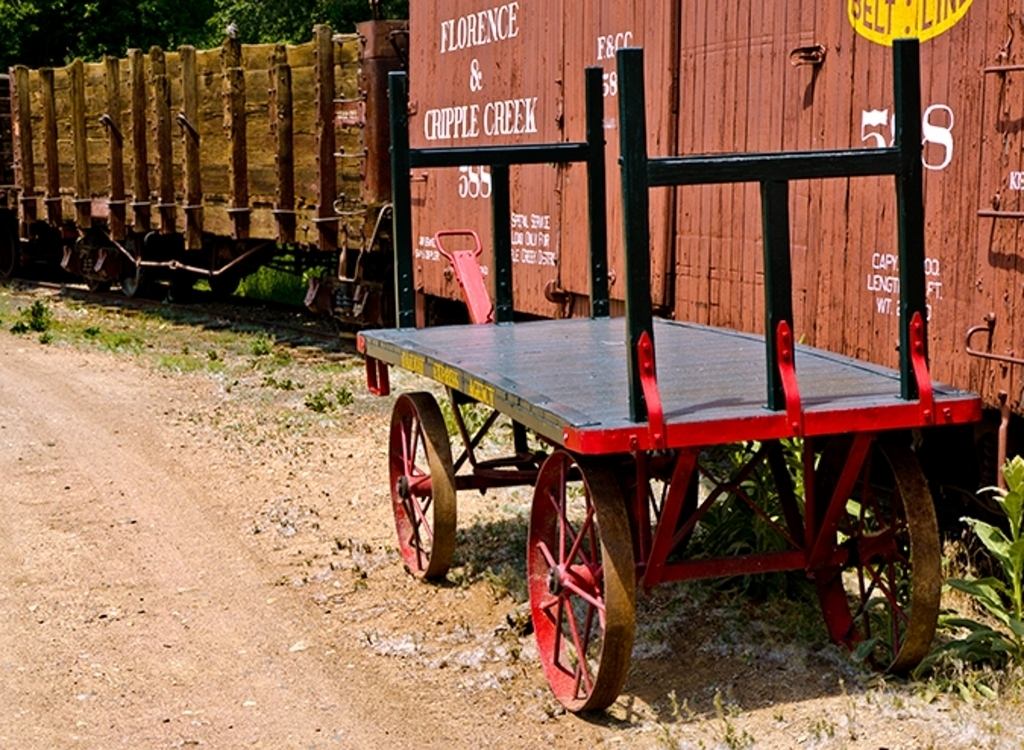 Colorado Railroad Museum baggage cart