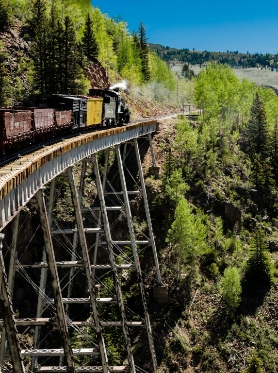 Cascade Trestle on Cumbres and Toltec