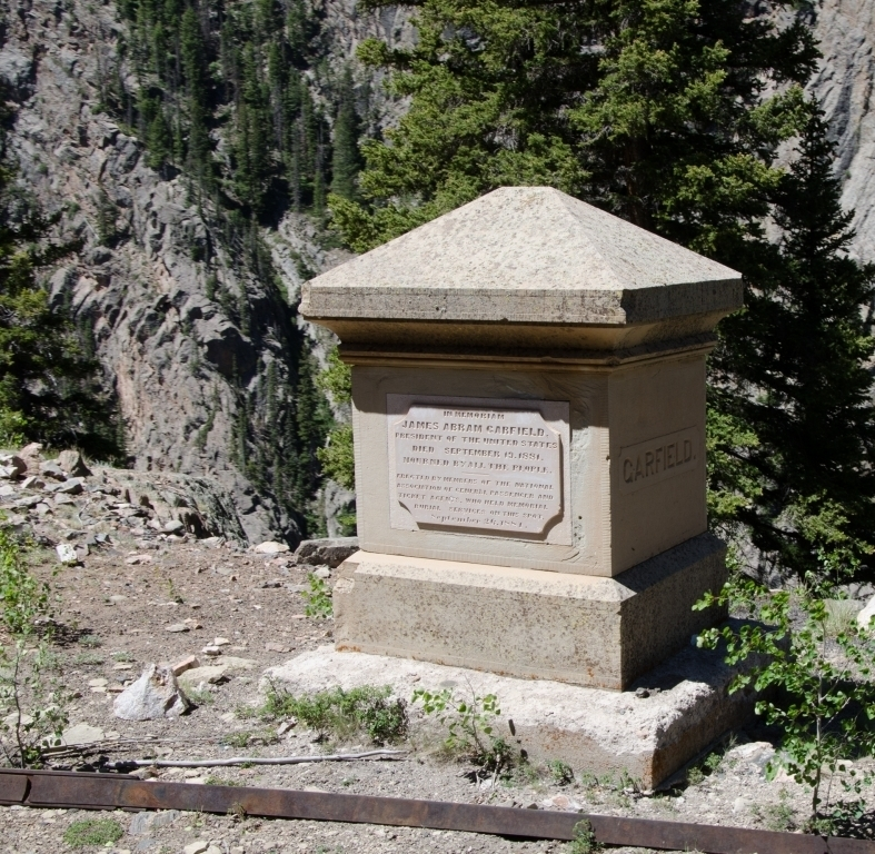 Garfield Monument on Cumbres and Toltec