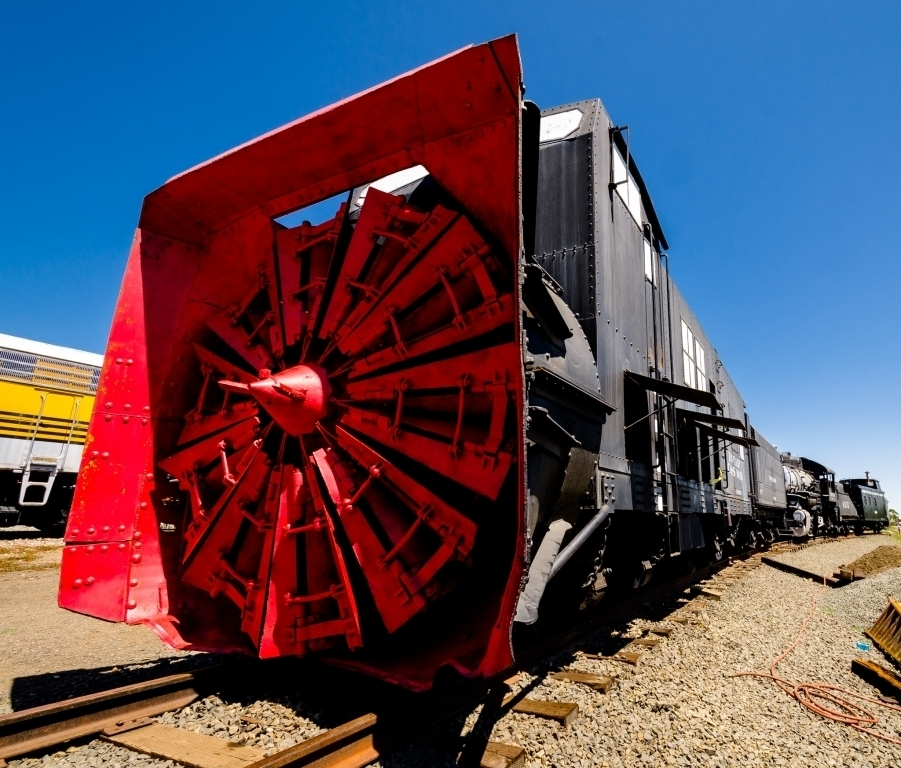 Rotary Snowplow, Colorado Railroad Musem