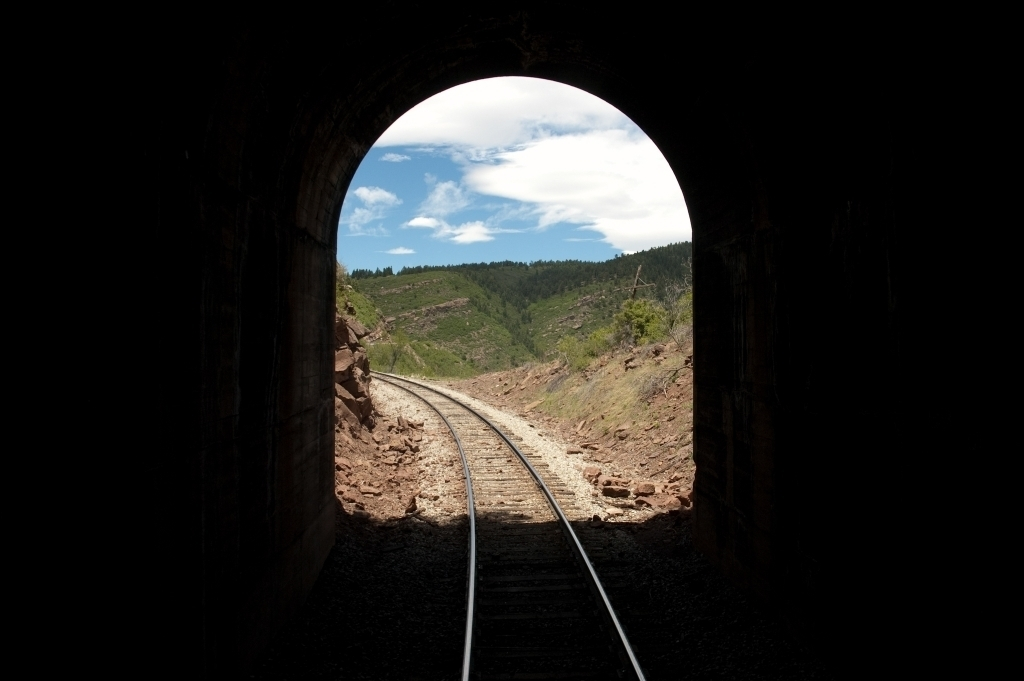 Rio Grande and San Juan Railroad tunnel
